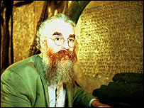 Dr Irving Finkel, of the British Museum's Ancient Near East department