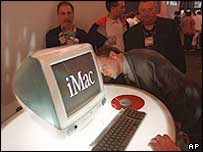 Launch of the iMac in 1998