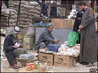 Market in Baghdad's Saddam City