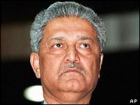 Abdul Qadeer Khan (archive image from 1998)