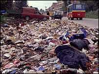 Rubbish in Kathmandu