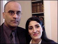 Raj and Shahana Hashmi