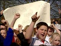 Drayton School pupils