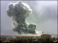 Baghdad air raid, 31 March 03