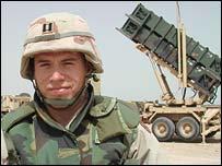 Battery commander Captain Derek Johnson