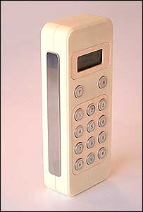 A prototype mobile phone