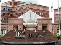 HCI hospital Clydebank