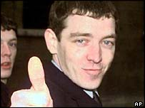 Tony McCarroll at an earlier appearance in 1999