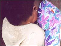 A young survivor of child trafficking in Togo (c) 2002 Jonathan Cohen /Human Rights Watch