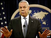 United States Secretary of State Colin Powell