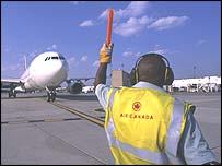 Air Canada steward