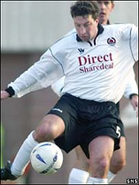 Paul Kane in action for Clyde