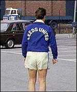 Brian Clough during his 44 days at Leeds United
