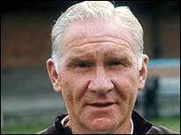 Former Spurs manager Bill Nicholson