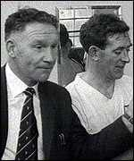 Nicholson with Blanchflower