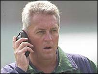 Bob Woolmer is a man in demand