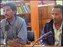 Semere Kesafe Negasi and Maheri Johannes