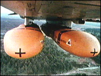 Cluster bombs in last Gulf War