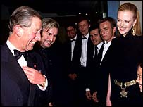 Prince Charles at the Moulin Rouge premiere