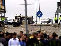 Oldham in the aftermath of the riots in 2001