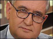 French prime minister Jean-Pierre Raffarin