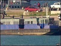 Hijacked ferry