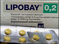 Bayer's cholesterol-lowering drug Lipobay