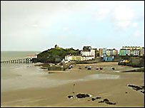 Tenby's North Beach