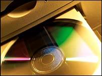 Compact disc carousel, Eyewire