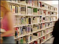 University library, BBC