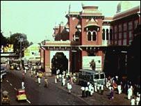 Madras street scene