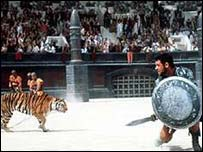 Scene from Ridley Scott's film Gladiator