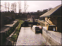 The canal at Welshpool