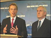 Mr Blair and Mr Ahern