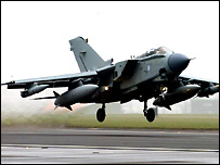 Bbc News Middle East Tornados To Drop Concrete Bombs