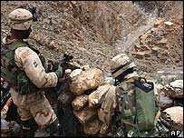 US soldiers on operations in Afghanistan