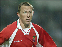 Wrexham striker Andy Morrell claimed two goals
