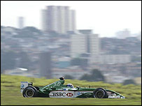 Mark Webber was a surprise third fastest at Interlagos