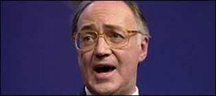 Michael Howard MP, shadow chancellor