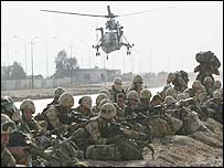 Marines of 40 Commando in Basra