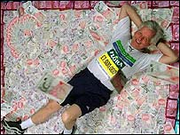 John Spurling, who raised £1m for charity at the 1999 London Marathon
