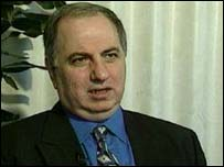 Iraqi National Congress leader Ahmed Chalabi