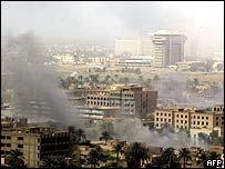 Baghdad - explosions