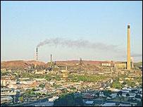 The Mount Isa mining operation in Australia