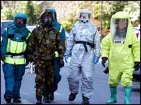 Mock terrorist attack