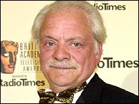 David Jason at the Bafta TV Awards 2001