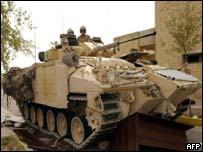 AFP: British Armour