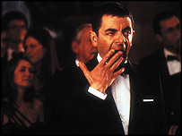 Rowan Atkinson in Johnny English