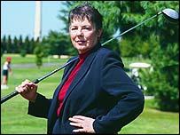 NCWO chairwoman Martha Burk