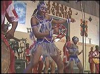 Femi Kuti's dancers